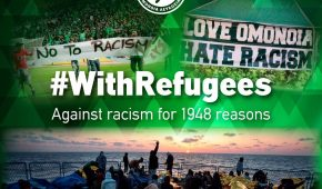 """""""We stand together with refugees"""""""