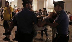 Τρόμος με 600 τραυματίες στο Τορίνο. (pics + vids)