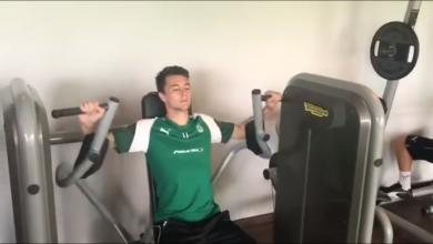 Ο Λεάντρο Γκονζάλες στο γυμναστήριο!( vid)